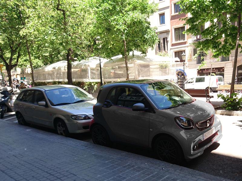 smart in バルセロナ