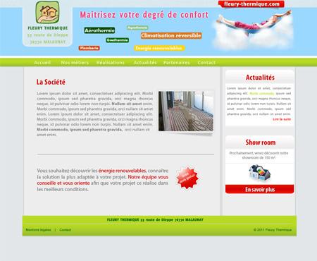 création de site internet à malaunay