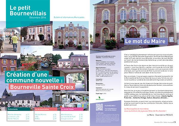 création d'un bulletin municipale