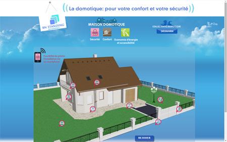 création site internet domotique à SAINT OUEN L'AUMONE
