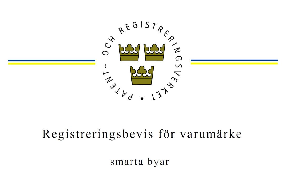 Smarta byar får registrerat varumärke