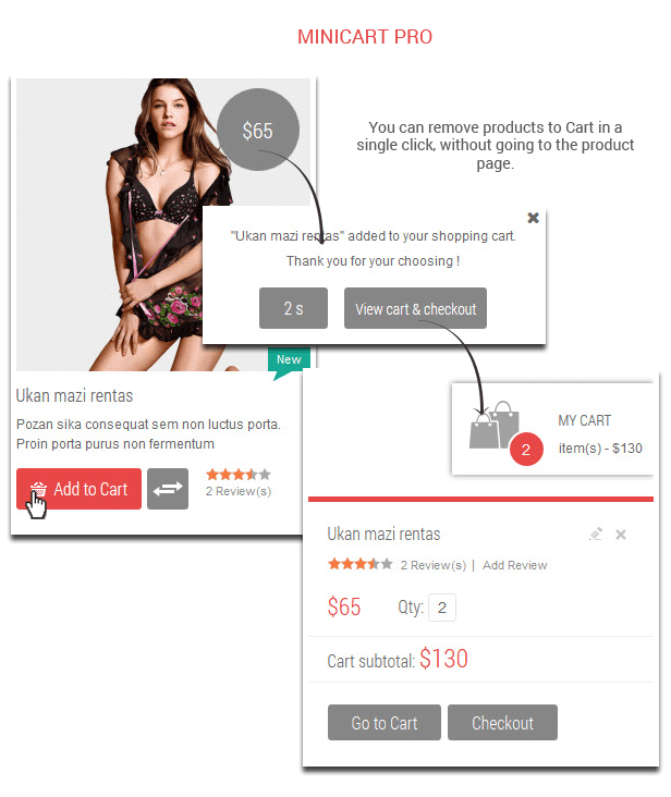 Love Fashion- Minicartpro