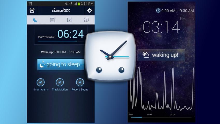 Monitora il sonno durante la notte registrando suoni e movimenti