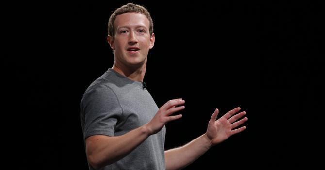 Mark Zuckerberg a sorpresa sul palco di Samsung