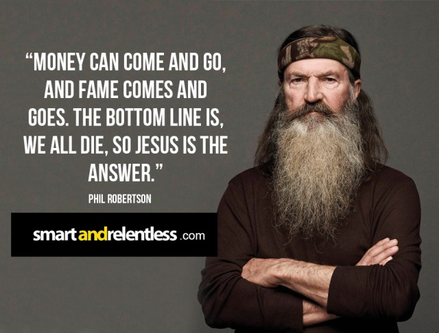 Image result for phil robertson money