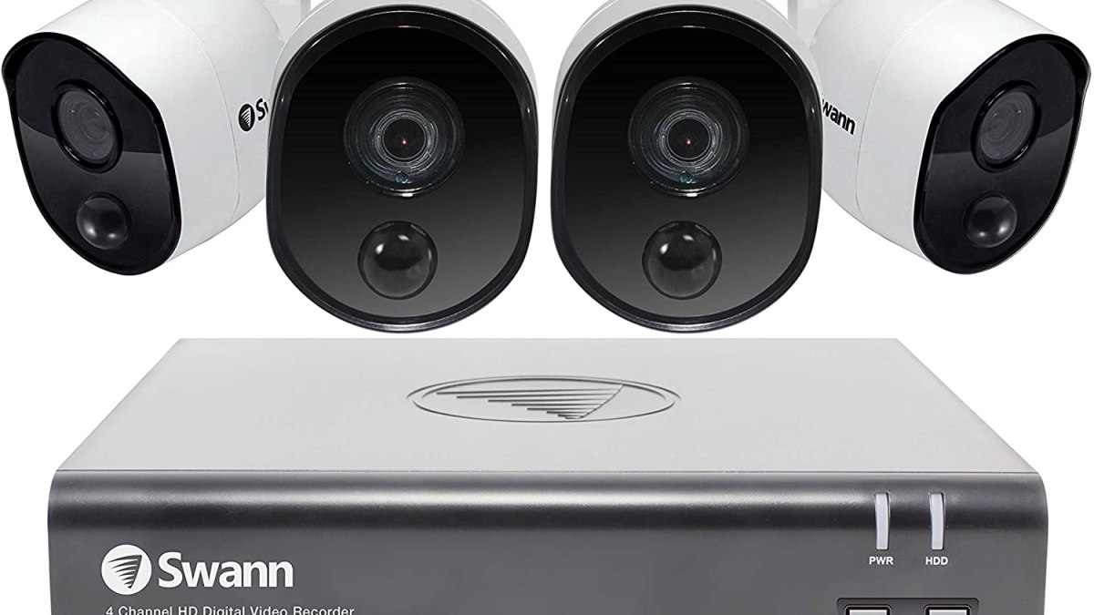 Best Outdoor Wireless Security Camera Systems with DVR