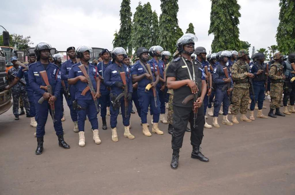 Over 30 Ghanaian Police Officers feared to have contracted COVID-19