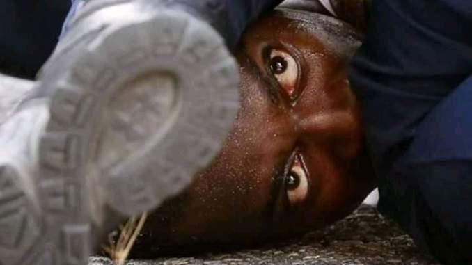 Back man killed by white police officer