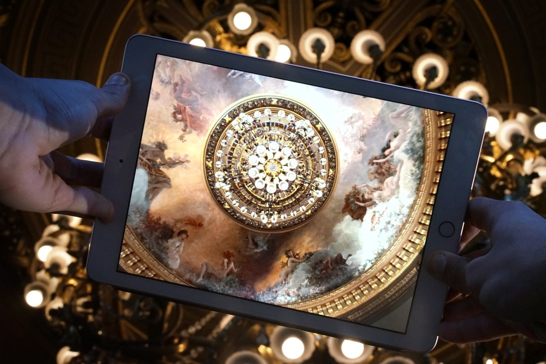 Application de visite Opéra National de Paris