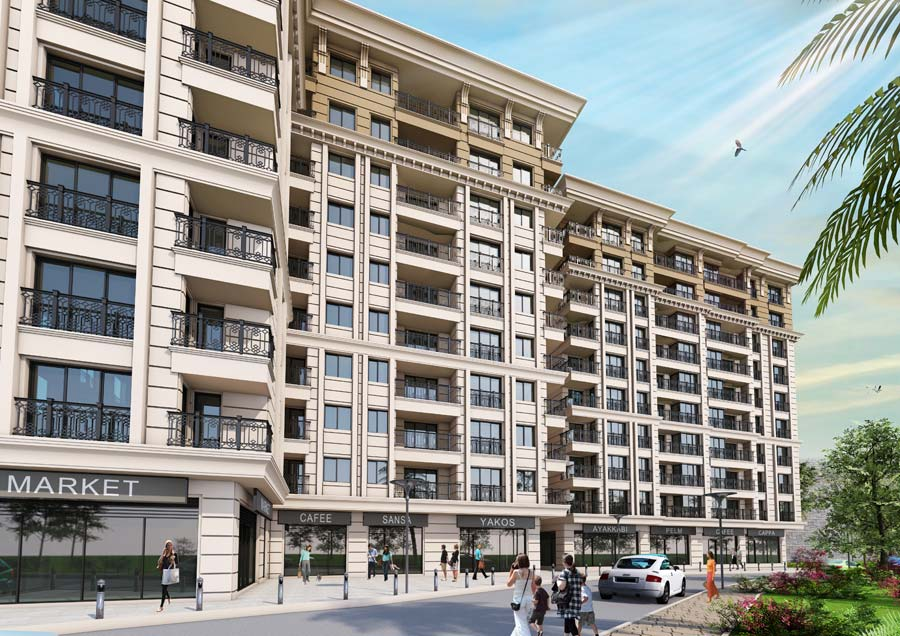 Properties for sale in Eyüp, located in the middle of Istanbul city and near to the golden horn.