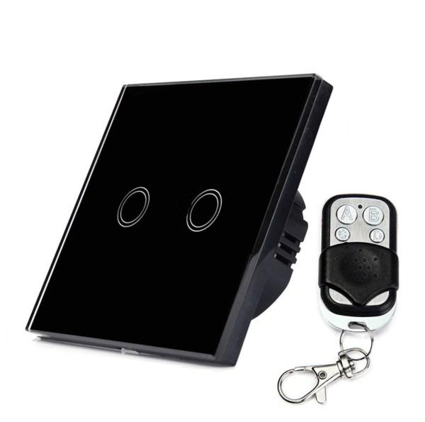 сензорен ключ с дистанционно черен