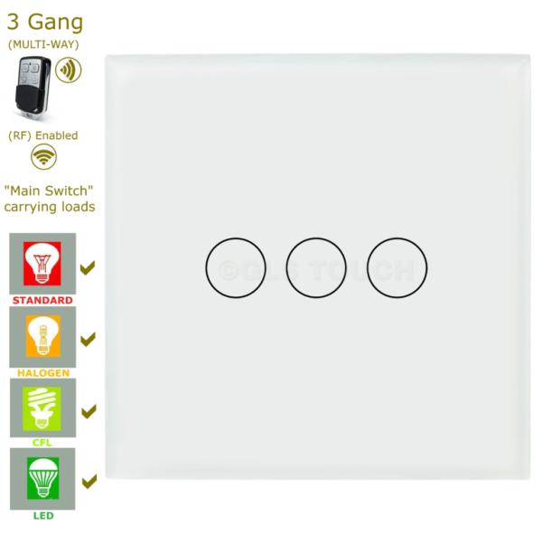 сензорен ключ с дистанционно три бутона