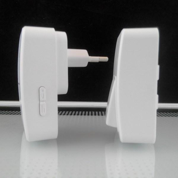 кинетичен звънец и кинетичен бутон отстрани