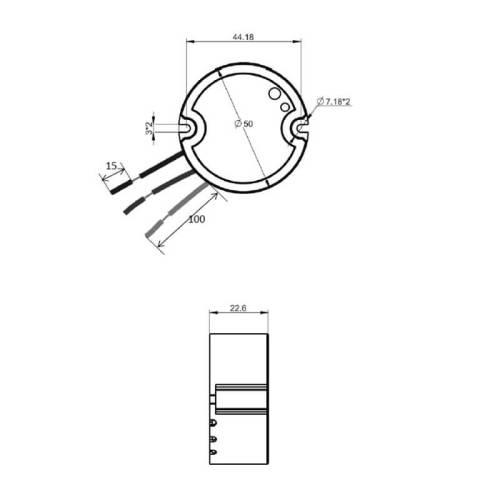размери на контролера на кинтетичния ключ