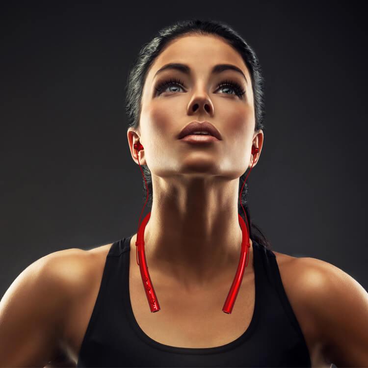 Bluetooth безжични спортни слушалки луксозни