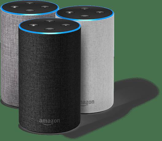 Amazon Echo 3 цвята