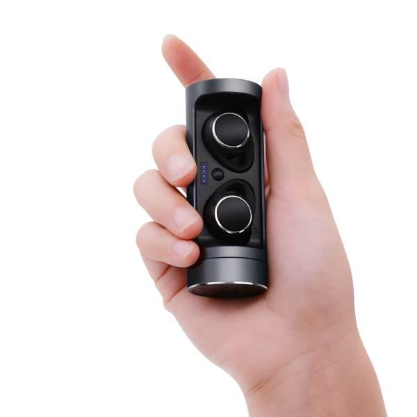 Bluetooth earbuds слушалки магнитно задържане