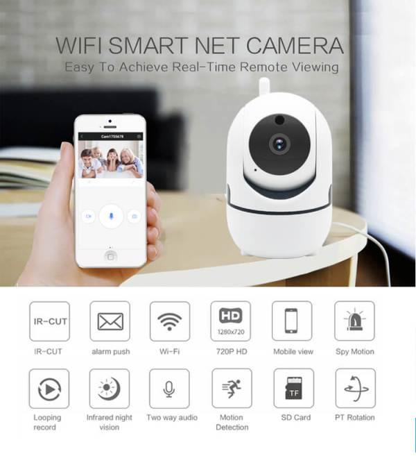 WiFi камера възможности