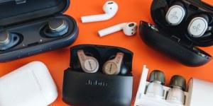 истинско безжично стерео слушалки