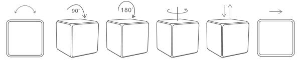 движения на кубчето xiaomi aqara