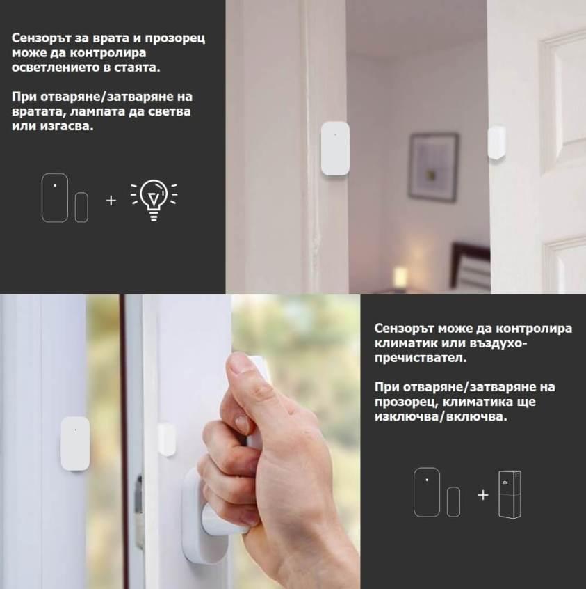 сензор за прозорец контрол на уреди