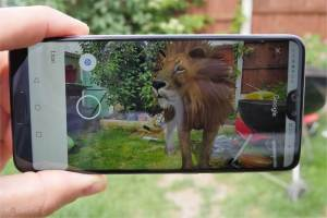 google AR 3d lion