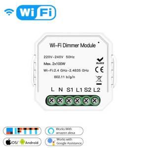 Двуканален WiFI димер модул