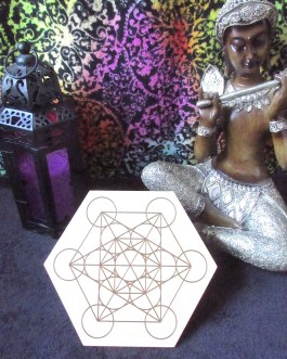 Crystal Grid Plate, Metatrons Cube