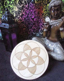 Crystal Grid Plate, Seed of Life