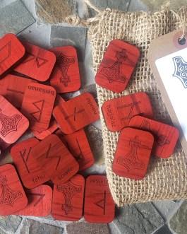 Runes, Elder Futhark, Wood