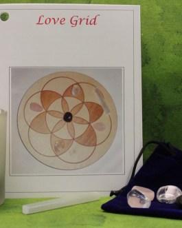 Crystal Grid Starter Kit, Love