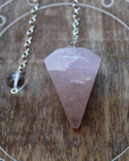 Pendulum, Rose Quartz