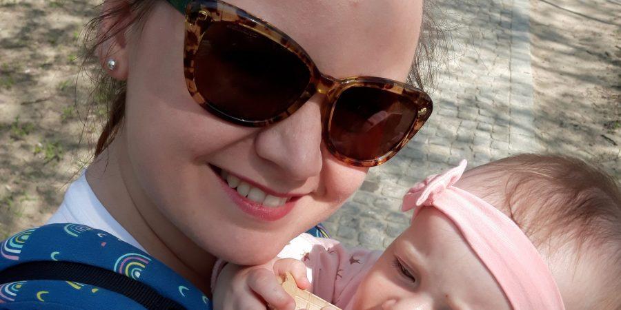 Jola Mularska z córką