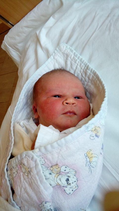 Amelka kilka dni po narodzinach, fot. archiwum prywatne