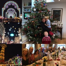 "Esma: "" photo collage which is captured the lovely Christmas time this year"""
