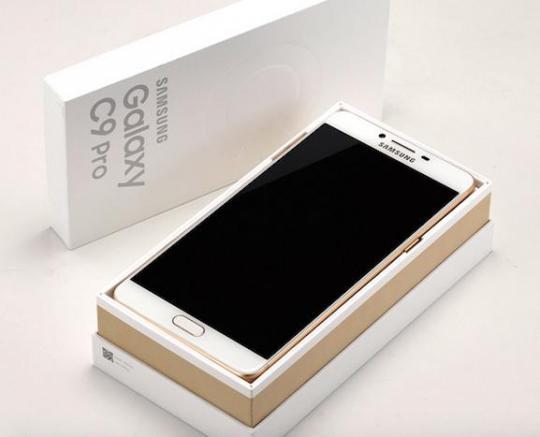 Представлен смартфон Samsung Galaxy C9 Pro с 6 ГБ ОЗУ