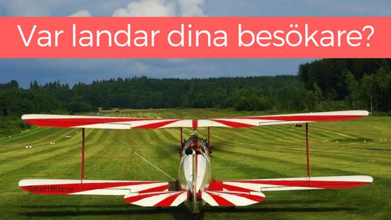 landningssidor annonsering