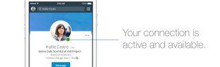 Aktiv på LinkedIn