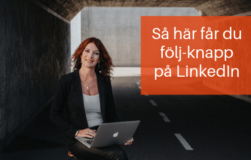 följ person på LinkedIn
