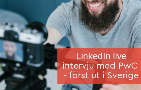 Linkedin live sverige