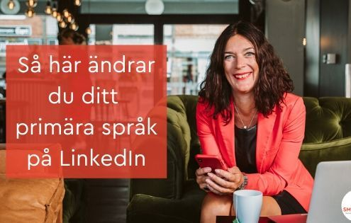 primära språk LinkedIn
