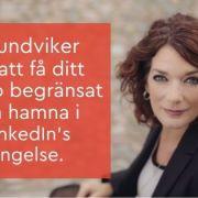 Linkedin begränsar konto