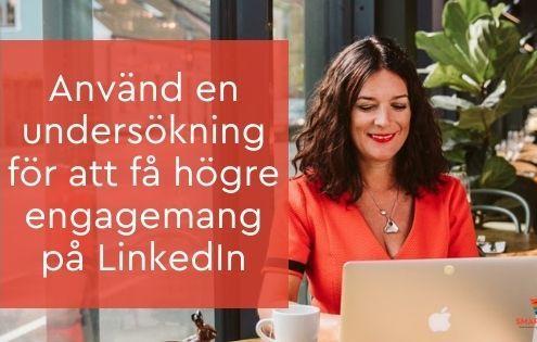 undersökning LinkedIn