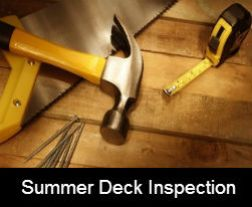 5 Important Summer Deck Inspection Tips