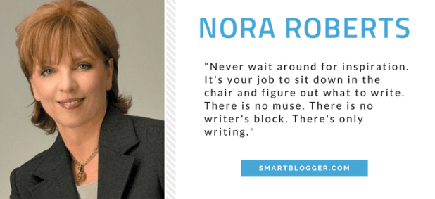 Nora Roberts - Writing Tips