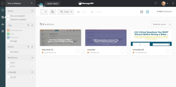 WordPress - Manage WP Plugin