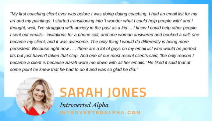 Sarah Jones quote