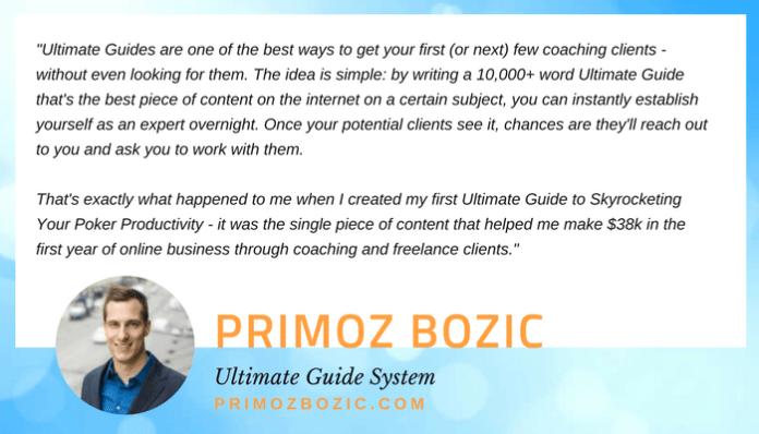 Primoz Bozic quote