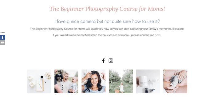 sell niche courses - 2