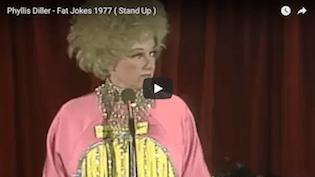 Phyllis Diller Fat Jokes